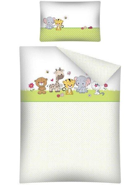 Pościel Dziecięca 100x13540x60 Zwierzątka 2686a Dzieci Młodzież