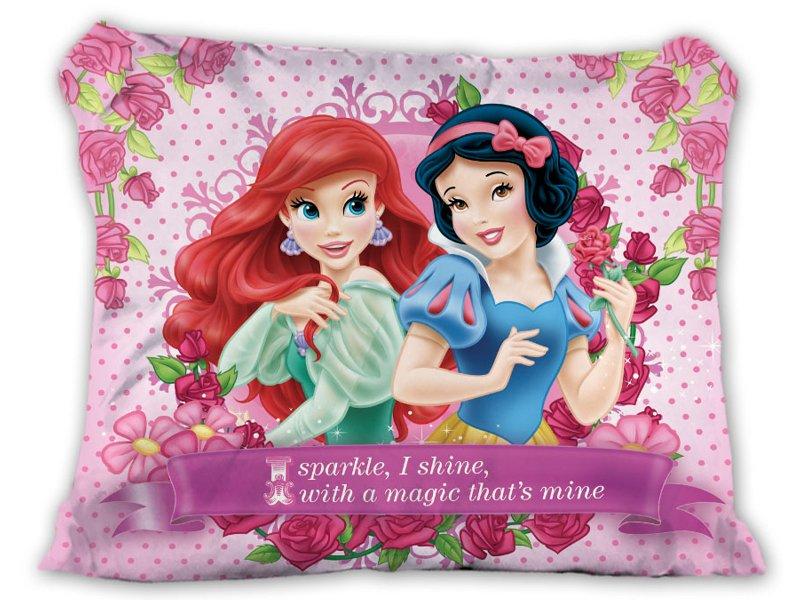 Poszewka Disney Ariel I Królewna śnieżka 70x80 Cm Dzieci Młodzież
