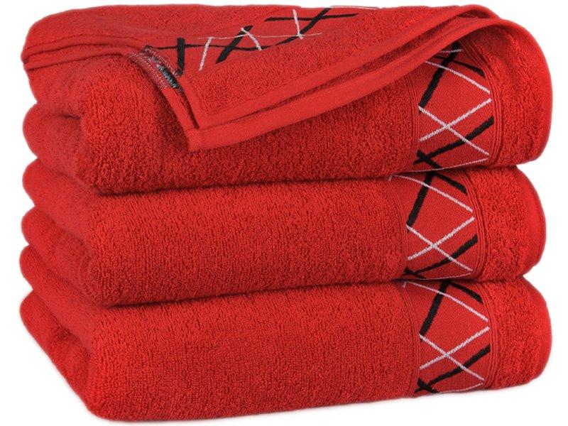 4491c74798109d Ręcznik Bawełniany Fokus Czerwony - Łazienka \ Ręczniki Bawełniane ...