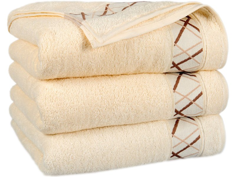 a9f2191ea4f5b7 Ręcznik Bawełniany Fokus Ecru - Łazienka \ Ręczniki Bawełniane - Euromat