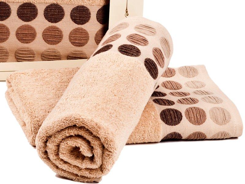 620ce8ec54df90 Ręczniki Bawełniane Fashion Round Beżowe - Łazienka \ Ręczniki ...