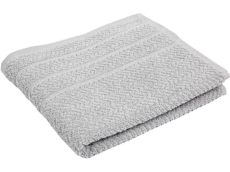 bee8561d4850fc Ręczniki Bawełniane Popcorn Jasno Szary - Łazienka \ Ręczniki ...