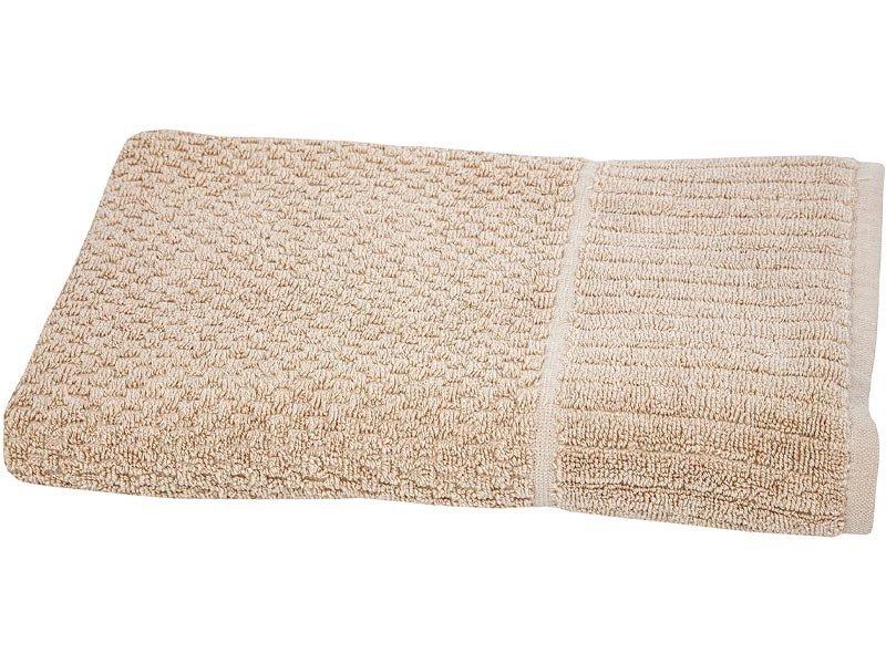 b62584c88b8390 Ręczniki Bawełniane Timaru Beżowy - Łazienka \ Ręczniki Bawełniane ...